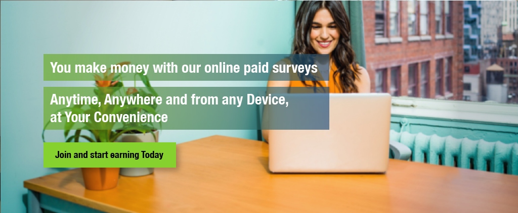 Work from Home, Paid Survey